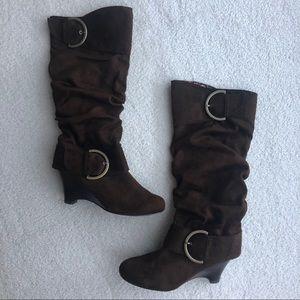Naughty Monkey Chestnut Boots